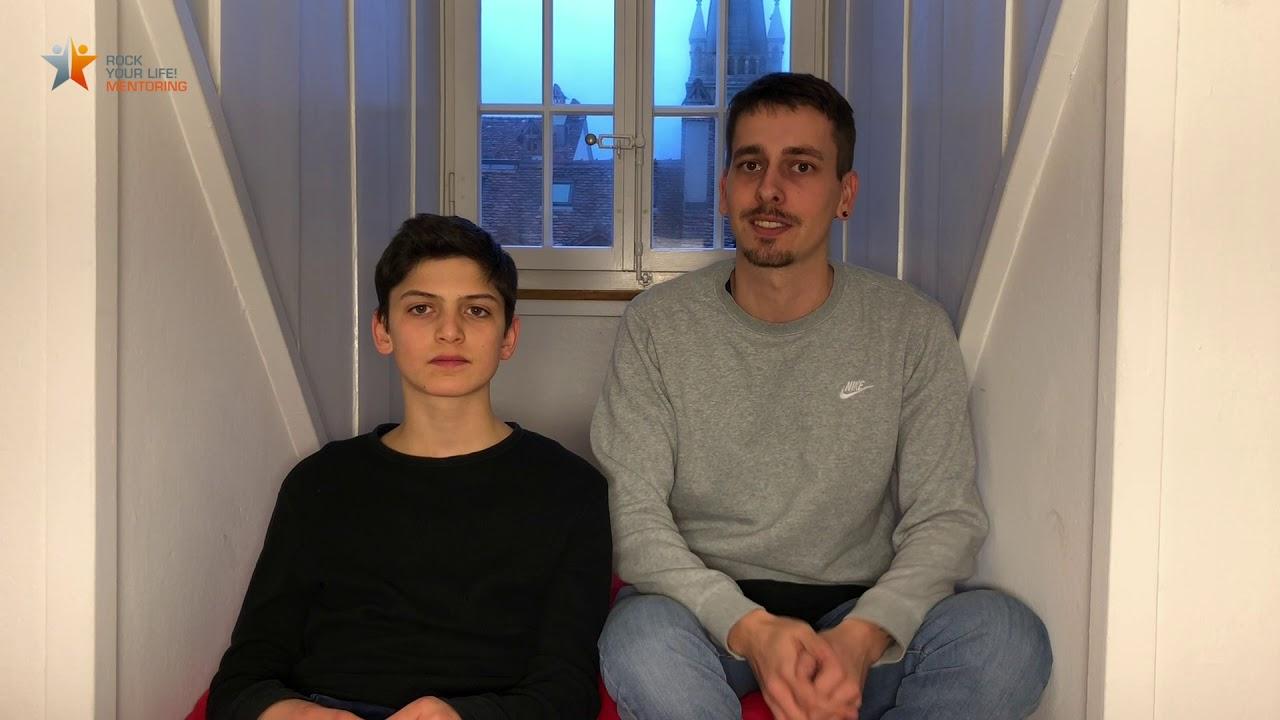 ROCK YOUR LIFE! – Ein Mentee und Mentor geben Einblicke in ihre Mentoring-Beziehung