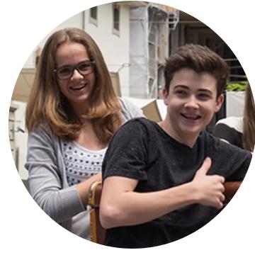 Rebekka, ehemalige Chance-Schülerin in Lausanne