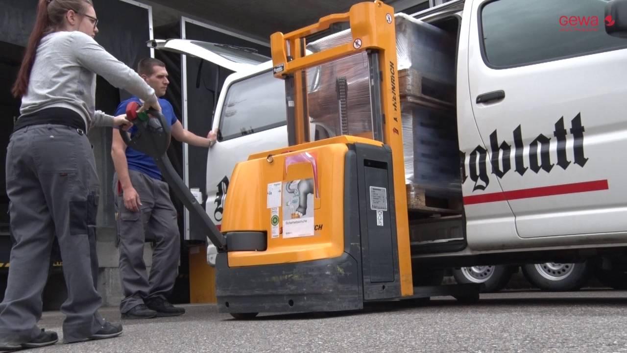 Ausbildung Logistik in der GEWA